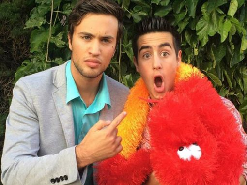 Aaron and Dylan
